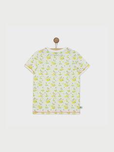 T-shirt maniche corte bianca RUMOAGE / 19E3PGQ1TMC000