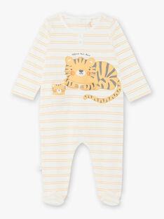 Tutina e peluche tigre neonato ZEDJIMI / 21E5BG24GRE001