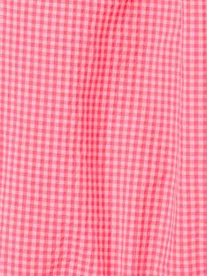 Pagliaccetto Vichy rosa ZASUZY / 21E1BFU1CBLD311