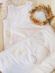 Sacco nanna bianco e giallo neonato unisex ZOMAXENCE / 21E0AMY1TUR000
