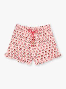 Shorts rosa bambina TIUMETTE / 20E2PFQ1SHOD317
