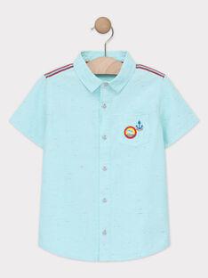Camicia turchese bambino TUFLAGE / 20E3PGW1CHM209