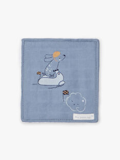6 salviette blu e bianche nascita bambino BOAZ / 21H0AG41ACD219