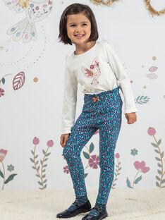 Leggings con stampa a fiori bambina BOFIETTE / 21H4PF91CAL714
