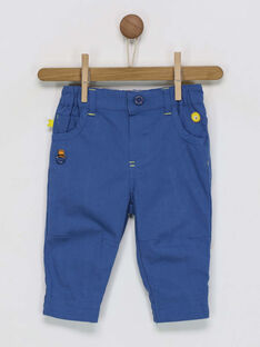 Pantaloni navy RAELIO / 19E1BGC2PANC202