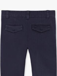 Pantaloni navy bambino ZECROAGE / 21E3PGB3PAN070