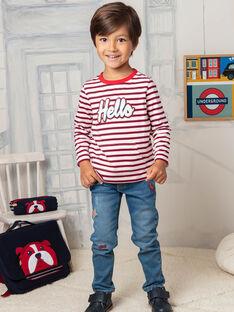 Jeans blu e rossi bambino BEFAGE / 21H3PG51JEAP269