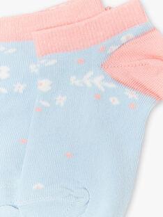 Calze azzurre e rosa ZUCAETTE / 21E4PFT1SOB201