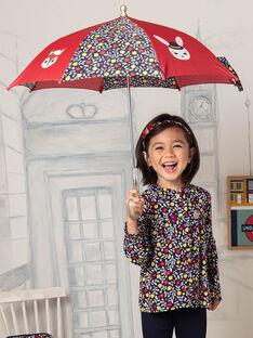 Ombrello con stampa a fiori e motivo animali bambina BIPLUIETTE / 21H4PF51PUI050