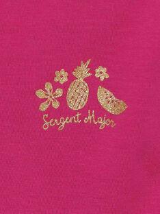 T-shirt maniche corte rosa RUFAPETTE 6 / 19E2PFQ2TMCD302