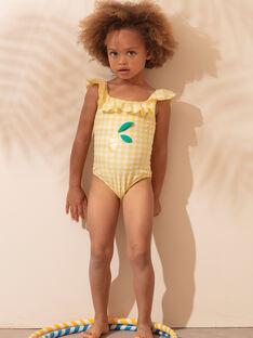 Costume da bagno vichy bambina TIDUETTE / 20E4PFI1D4K010