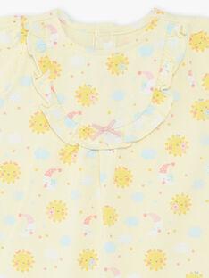 Tuta gialla neonata ZEFEU / 21E5BF22GREB104