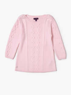Pale rose DRESS VAOLIA / 20H1BFW3ROB301