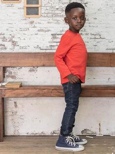 Jeans denim scuro bambino BUWOLAGE1 / 21H3PGB2JEAK005