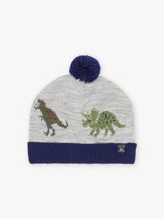 Berretto bicolore dinosauro bambino BABANAGE / 21H4PGD1BON943