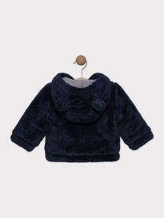 Giacca in pelliccia sintetica neonato, con fodera in jersey SINEO / 19H1BG72VES713