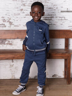 Pantaloni sportivi navy bambino BANUAGE1 / 21H3PG34JGBC212