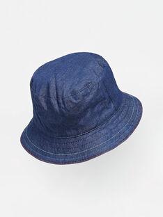 Cappello da pescatore double face neonato TAULI / 20E4BGW1CHA001