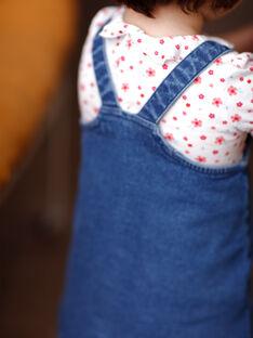 Abito in jeans neonata ZAFLORIANE / 21E1BFB1CHSP269
