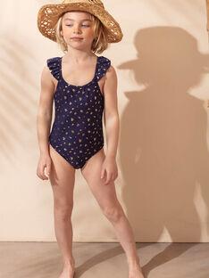 Costume intero navy con motivi dorati bambina ZAIJOETTE / 21E4PFR4D4K216