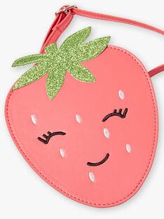 Borsa a tracolla fragola rosa guaiava ZOFRAISETTE / 21E4PFJ1BESD323