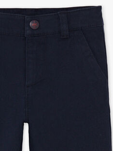 Pantaloni navy bambino BEGRAGE / 21H3PG52PAN070