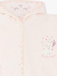 Mantella da bagno rosa neonata ZEKAPE / 21E5BF11CDBD326