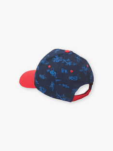 Cappellino blu e rosso bambino ZICASCAGE / 21E4PGT1CHAC214