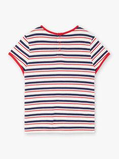 T-shirt maniche corte bambina ZOBABETTE / 21E2PFB2TMC632