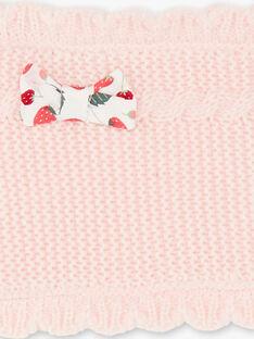 Scaldacollo rosa neonata ZAAGNES / 21E4BFM1SNO301