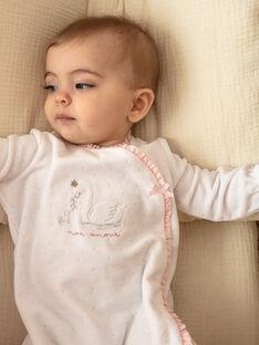 Tutina bianca neonata ZOELIA_B / 21E0NFG1GRE000