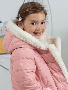 Piumino rosa double face bambina BLODOUETTE1 / 21H2PFD1D3ED300