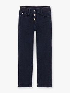 Jeans denim blu scuro bambina BROGINETTE1 / 21H2PFB2JEAK005