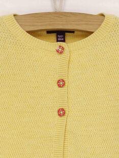 Cardigan giallo RADOLLY / 19E1BF61CARB105
