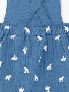 Pagliaccetto-salopette blu neonato TAREDORE / 20E1BGQ1BARC235