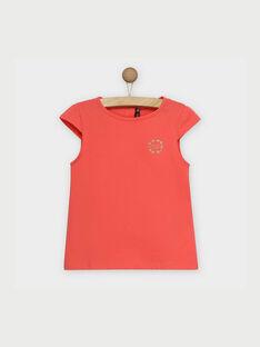 T-shirt maniche corte rosa RUFAPETTE 2 / 19E2PFH3TMC404