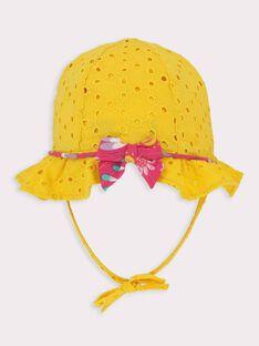 Cappello giallo neonata TAINES / 20E4BFG1CHA010