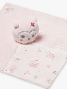 Peluche orsetto rosa chiaro nascita bambina BOLILOU / 21H0AF41JOU301