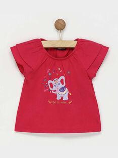 T-shirt maniche corte fucsia RAREBECA / 19E1BFM1TMC304