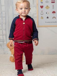 Pantaloni rossi neonato BAFAEL / 21H1BG52PAN503
