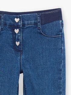 Jeans denim medio bambina BROGINETTE2 / 21H2PFB1JEAP274