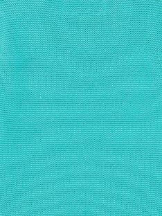 Maglia blu turchese ZAKEVIN / 21E1BGJ1PULG621