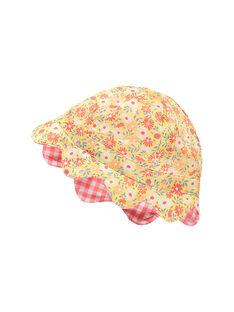 Cappello rosa e giallo RAOPHELIA / 19E4BFH1CHA404