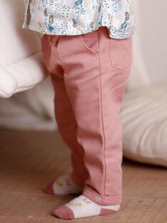 Pantaloni rosa neonata ZABONY / 21E1BF71PAND327