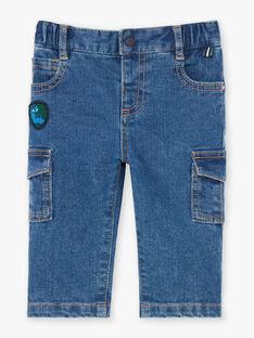 Jeans multitasca neonato BAJEAN / 21H1BG91JEAP269