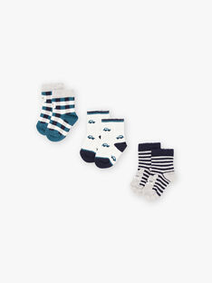 Set calze abbinate neonato BROBOB / 21H4BGB4LC3070