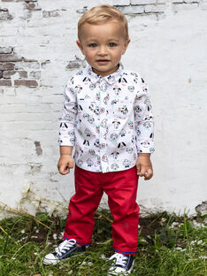 Pantaloni rossi neonato BABROOK / 21H1BG11PAN050