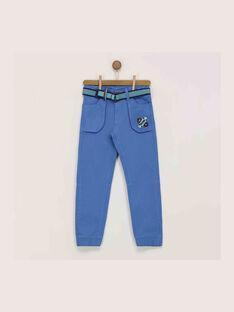 Pantaloni blu REDIJIAGE / 19E3PGC1PANC202