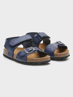Sandali blu in pelle bambino TILOUSAGE / 20E4PGW1CHTC205