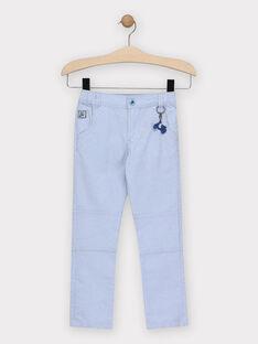 Pantaloni azzurri con portachiavi scooter bambino TIBIAGE / 20E3PGO1PANP265